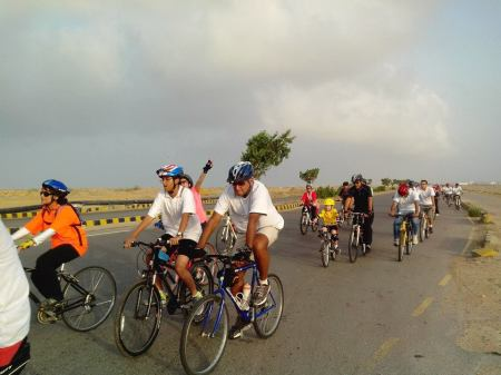 Photograph courtesy: Critical Mass Karachi